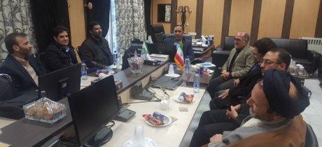 هیأت مدیره کانون سردفتران و دفتریاران استان قم با مدیرکل محترم امور مالیاتی استان دیدار کردند